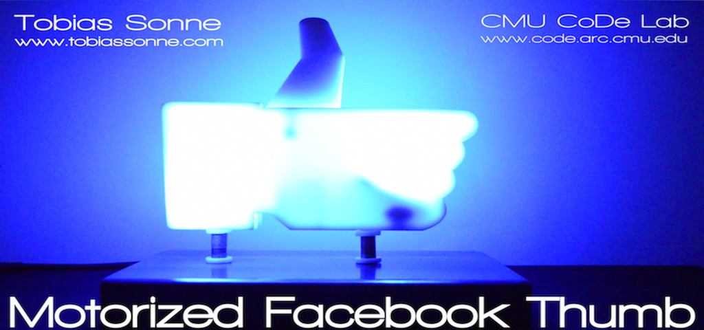 The Motorized Facebook Thumb